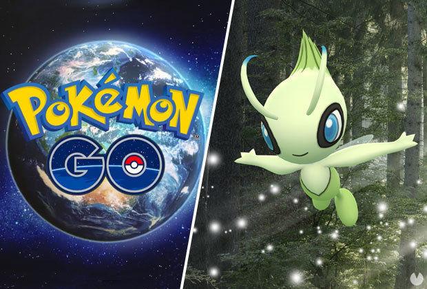 Pokémon Go, Celebi, Una ondulación en el tiempo, Capturar a Celebi, Conseguir a Celebi