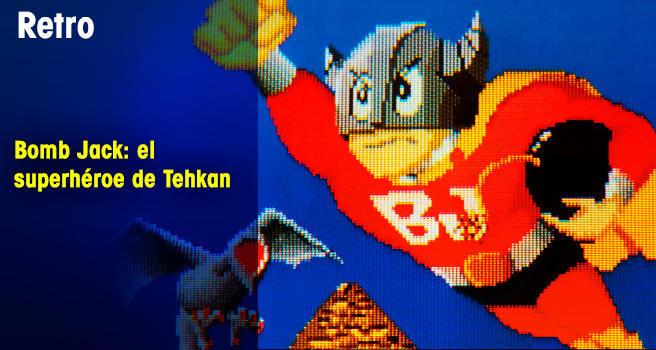 Bomb Jack: el superhéroe de Tehkan