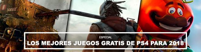 Los MEJORES juegos gratis de PS4 para 2018 - ¡Imprescindibles!