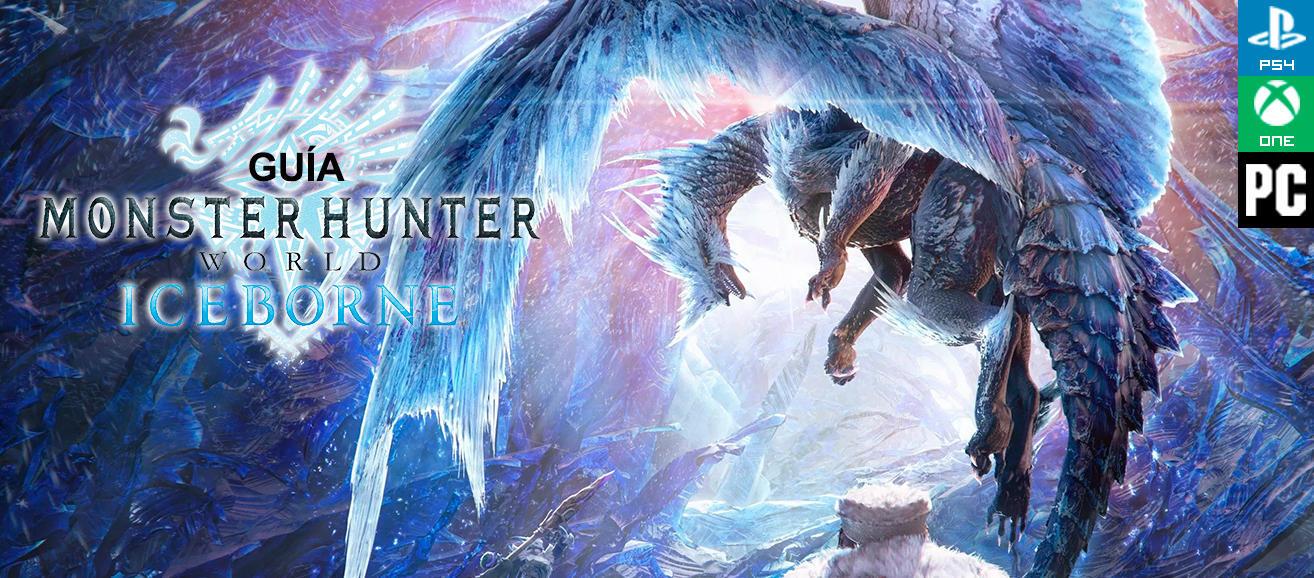 #LoMásVistoDeLaSemana Guía Monster Hunter World: Iceborne, trucos y consejos