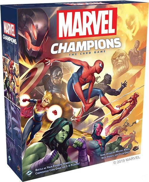 Announced the trading card game Marvel Champions: The Card Game