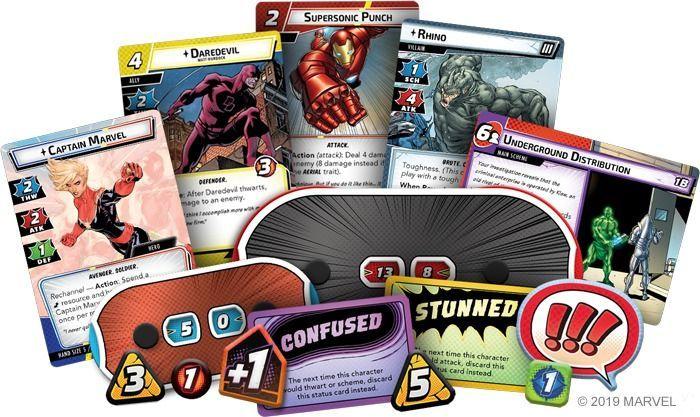 Anunciado que o jogo de cartas colecionáveis da Marvel Champions: The Card Game