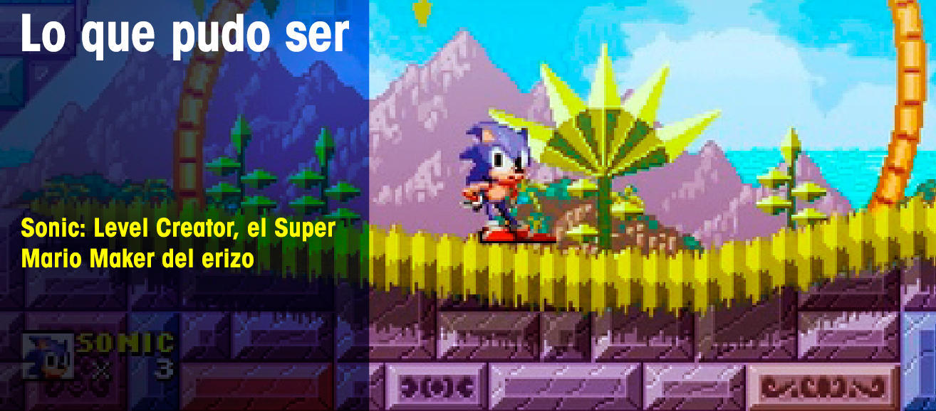 Sonic: Level Creator, el Super Mario Maker del erizo - Lo
