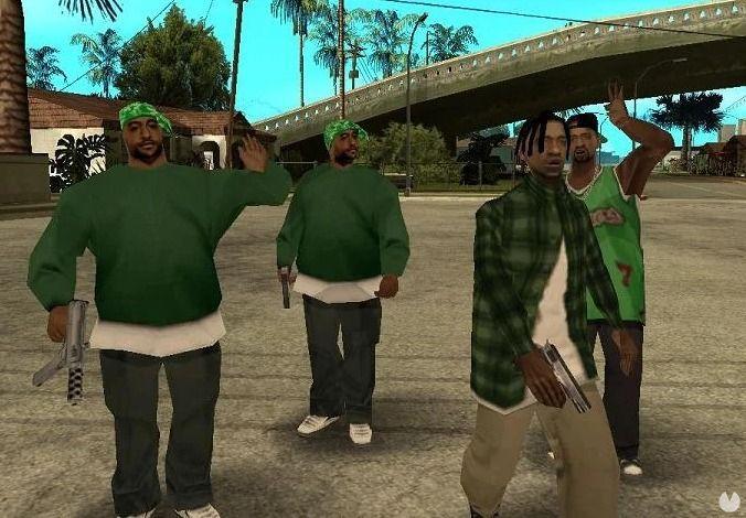 Truco de los peatones como gangsters en GTA San Andreas