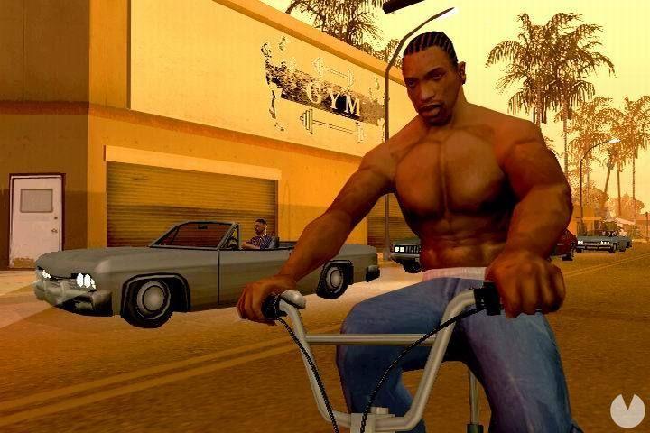 Truco CJ super Musculado GTA San Andreas