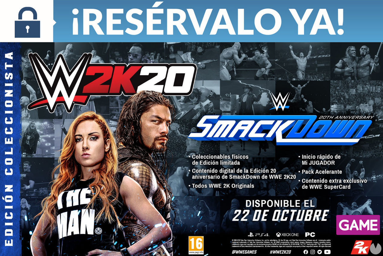 GAME announces their edits and their incentive booking exclusive for WWE 2K20