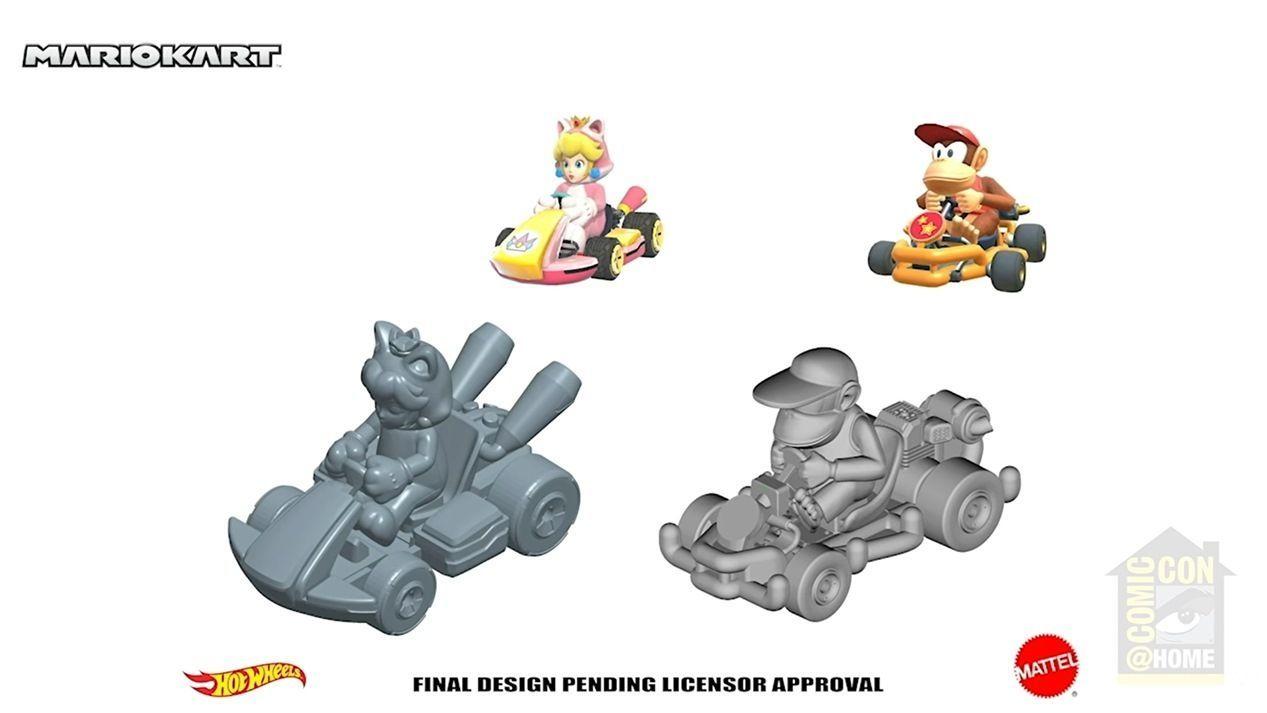 Hot Wheels amplia sua coleção de figuras baseadas em Mario Kart