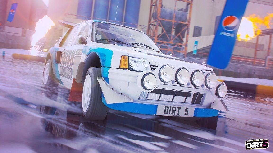 DIRT 5 nos muestra sus espectaculares carreras sobre hielo en un nuevo gameplay