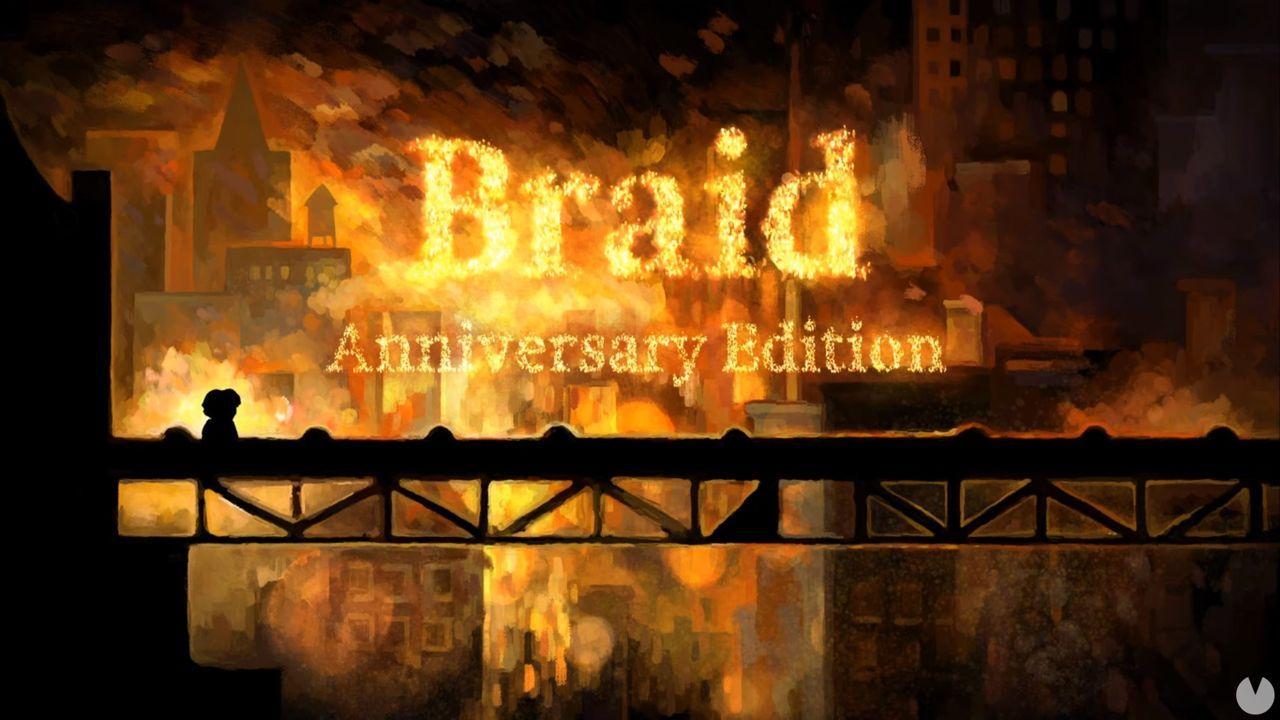 Braid llegará remasterizado a PS5, Xbox Series X, PS4, Xbox One, Switch y PC en 2021