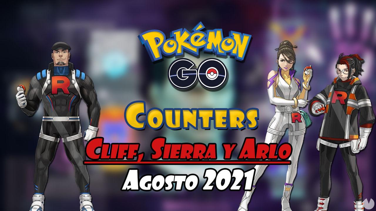 Pokémon GO: Cómo vencer a Cliff, Sierra y Arlo - Mejores counters (agosto 2021)