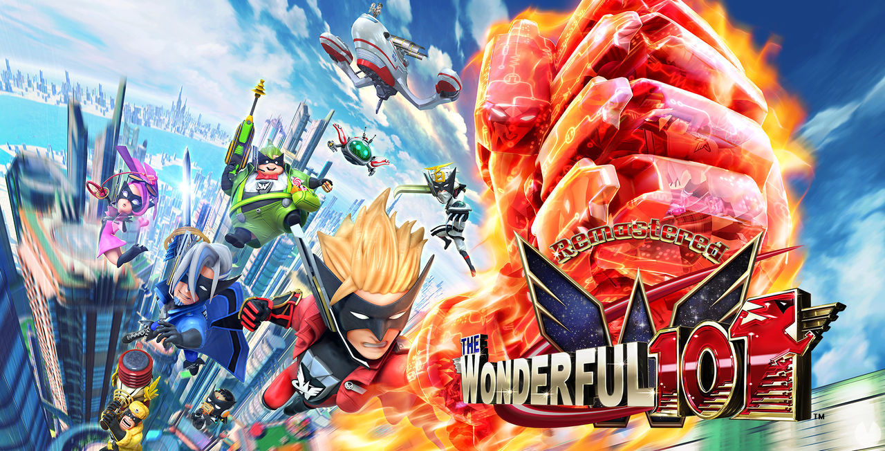 The Wonderful 101 Remastered announced for PS4, Switch and PC; due out in April