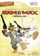 Car�tula oficial de de Sam & Max: Season One  para Wii