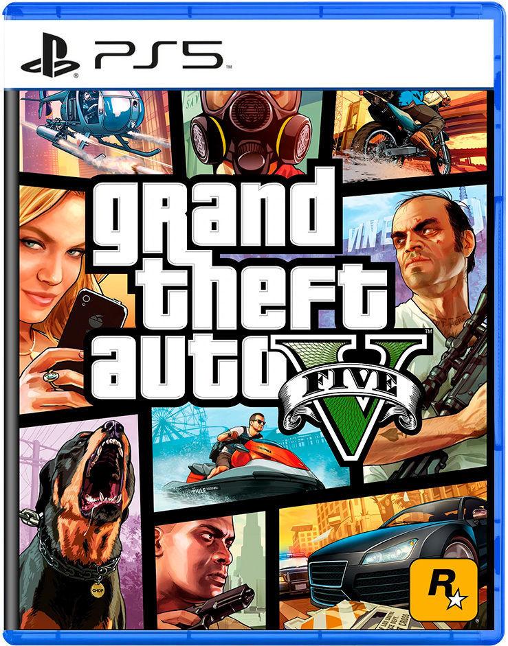 Grand Theft Auto V Videojuego Ps5 Y Xbox Series X S Vandal