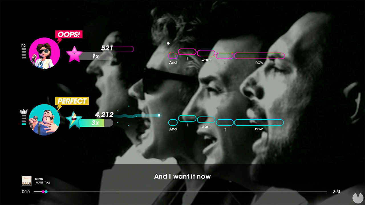 Let's Sing lanza en España el 2 de octubre su entrega centrada en la mítica banda Queen