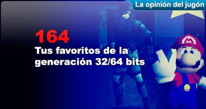 Tus favoritos de la generación 32/64 bits