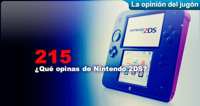 ¿Qué opinas de Nintendo 2DS?