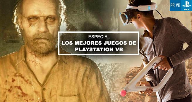 Los Mejores Juegos De Realidad Virtual Para Playstation Vr