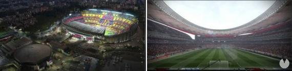Estadios españoles PES 2018