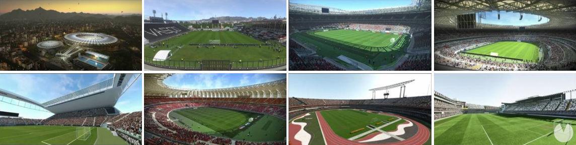 Estadios Brasileños PES 2018