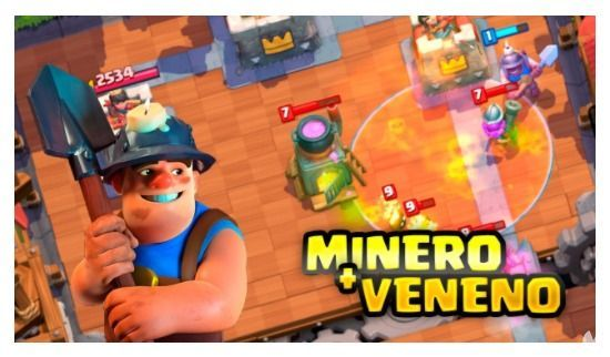 estrategia minero veneno clash royale