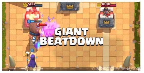 estategia gigante clash royale