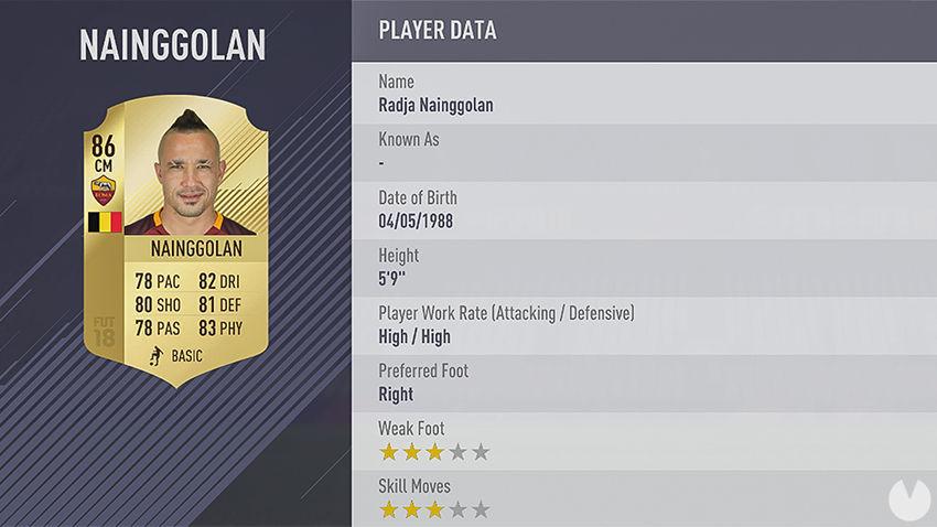 Nainggolan FIFA 18