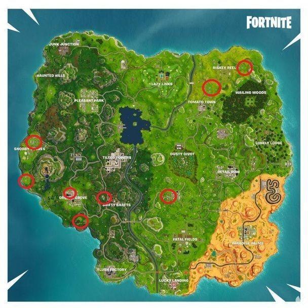 Fortnite: Busca piezas de rompecabezas en sótanos - Ubicación de las piezas del puzzle