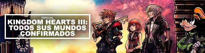 Kingdom Hearts III: Todos sus mundos confirmados