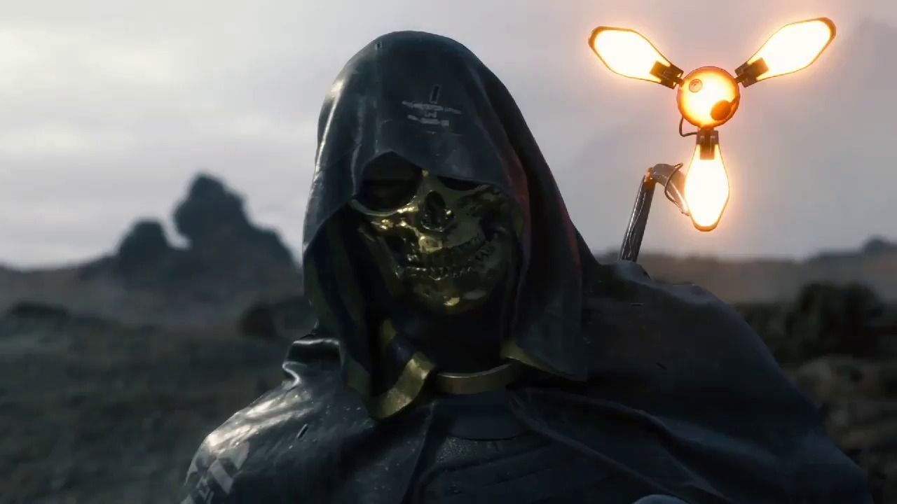 Death-Stranding debuts trailer featuring the character of Troy Baker