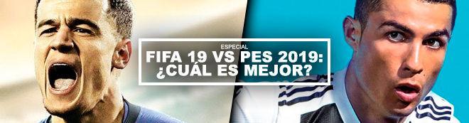 FIFA 19 vs PES 2019: ¿Cuál es mejor?
