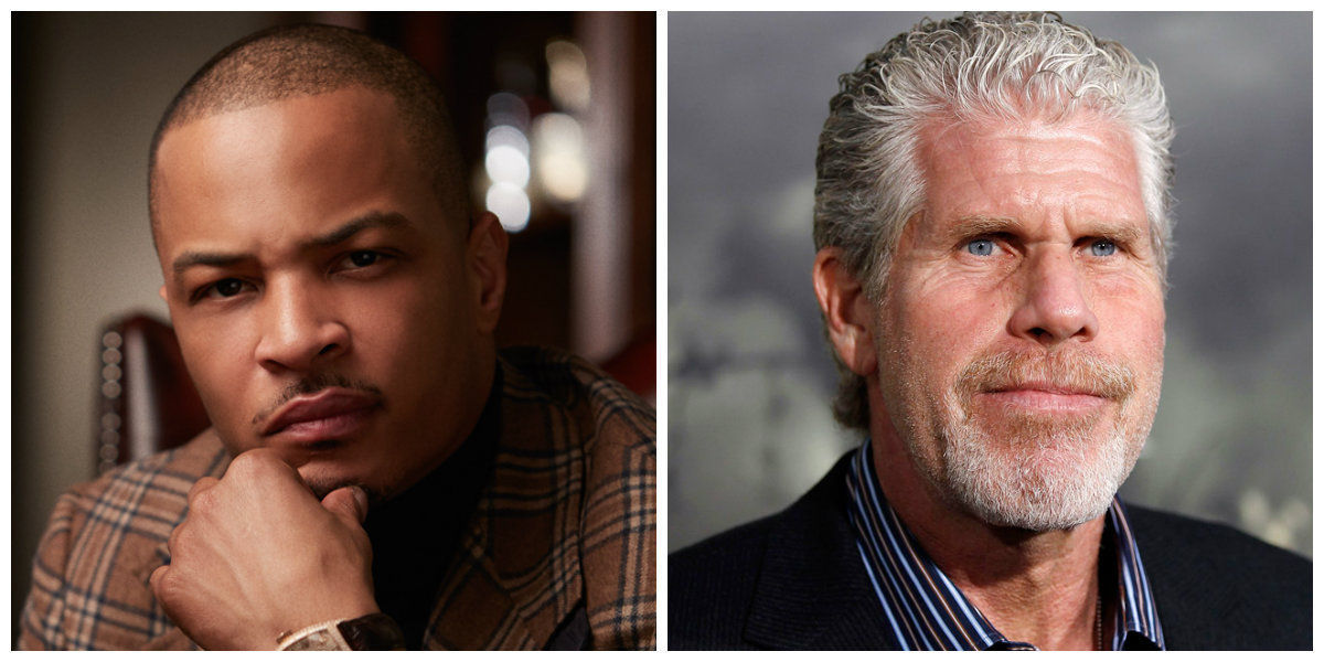 The movie of 'Monster Hunter' with Ron Perlman and T. I. Harris