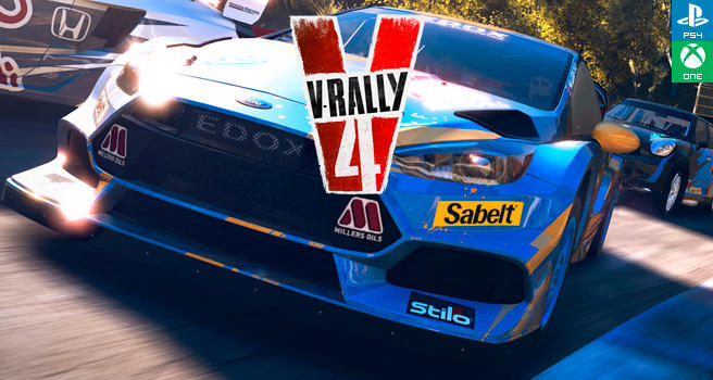 an lisis v rally 4 ps4 switch pc xbox one. Black Bedroom Furniture Sets. Home Design Ideas