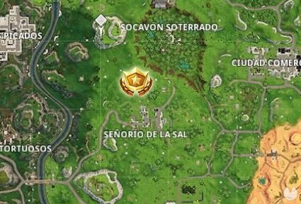 Fortnite Battle Royale, Semana 9 Temporada 5: sigue el mapa del tesoro de Túneles tortuosos