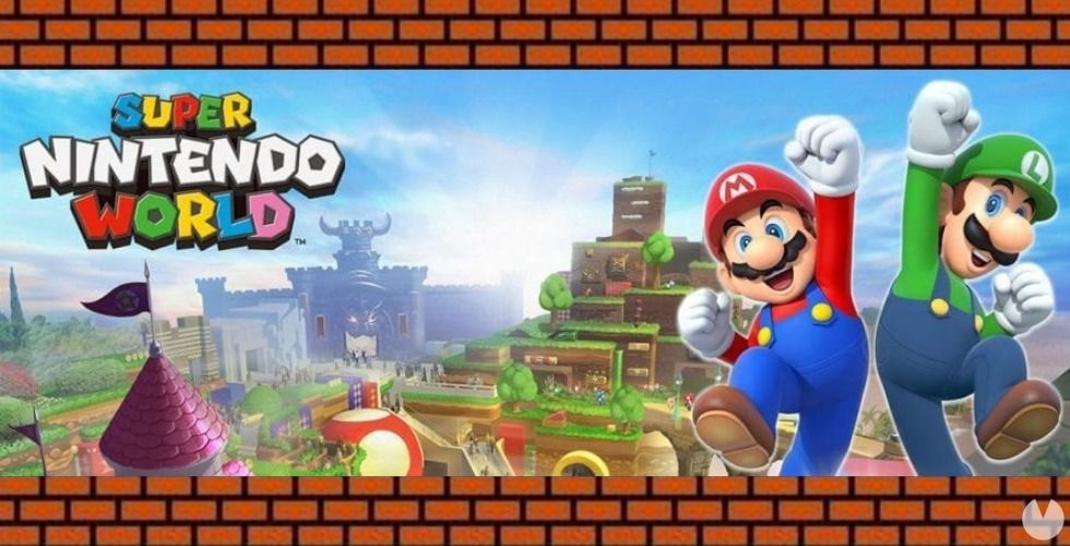 amusement park Super Nintendo World would have connection with Switch