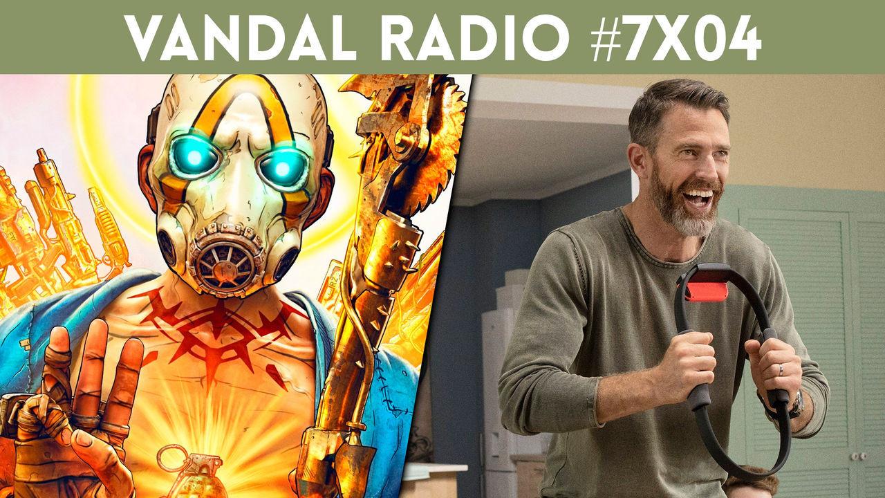 #LoMásVistoDeLaSemana #NoTeLoPierdas Vandal Radio 7×04 – Borderlands 3, PES 2020, Blasphemous, Ring Fit Adventure