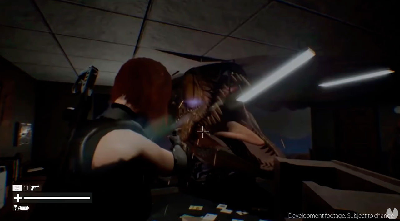 So looks like the gameplay of the remake fan of Dino Crisis