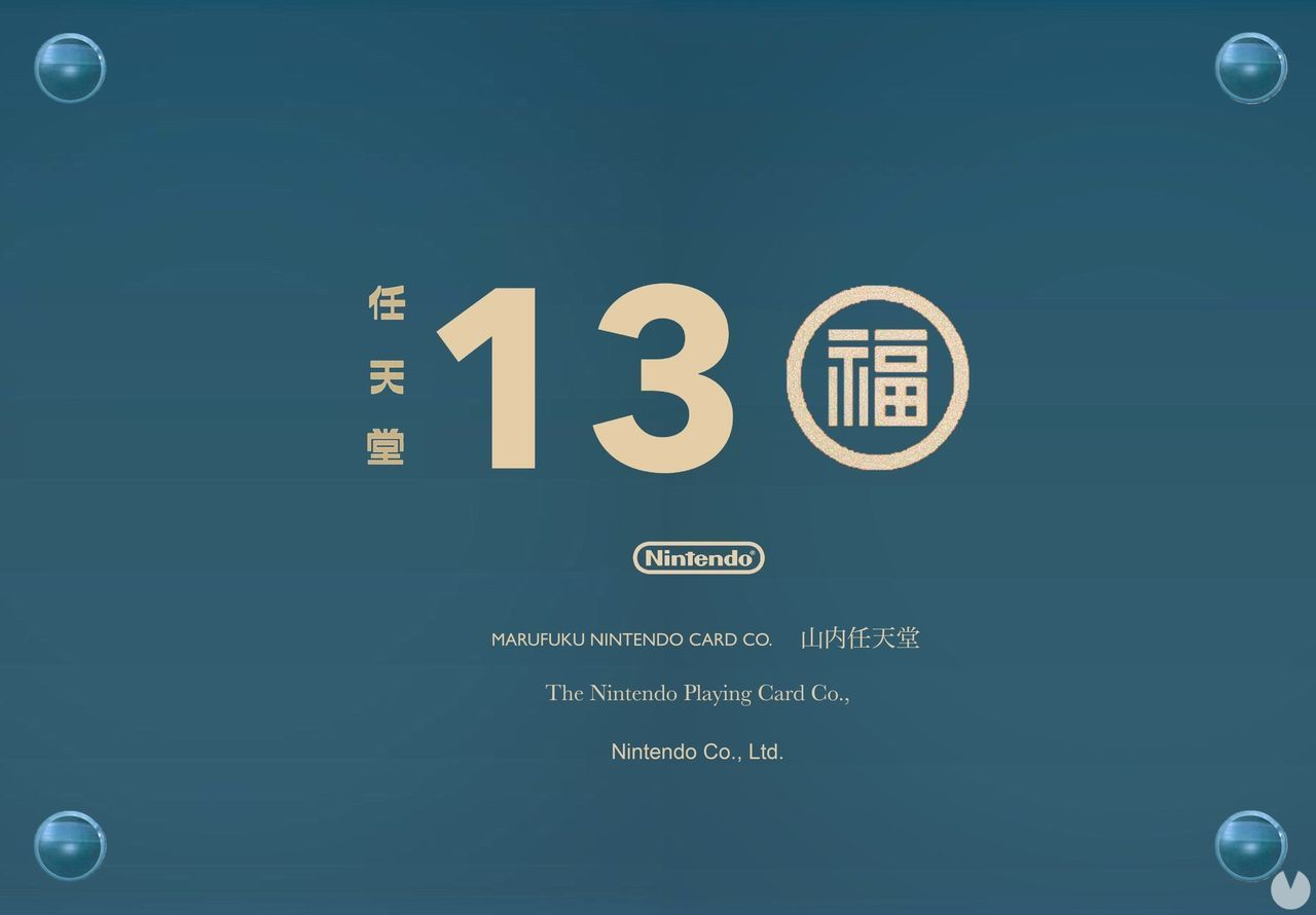 Nintendo meets today, 130 years since its founding in 1889