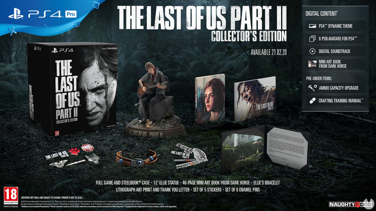 The Last of Us Part II: all editions collector, and special-price