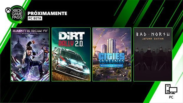 Saints Row IV, Dirt Rally 2.0 and more announced for the Xbox Game Pass on PC