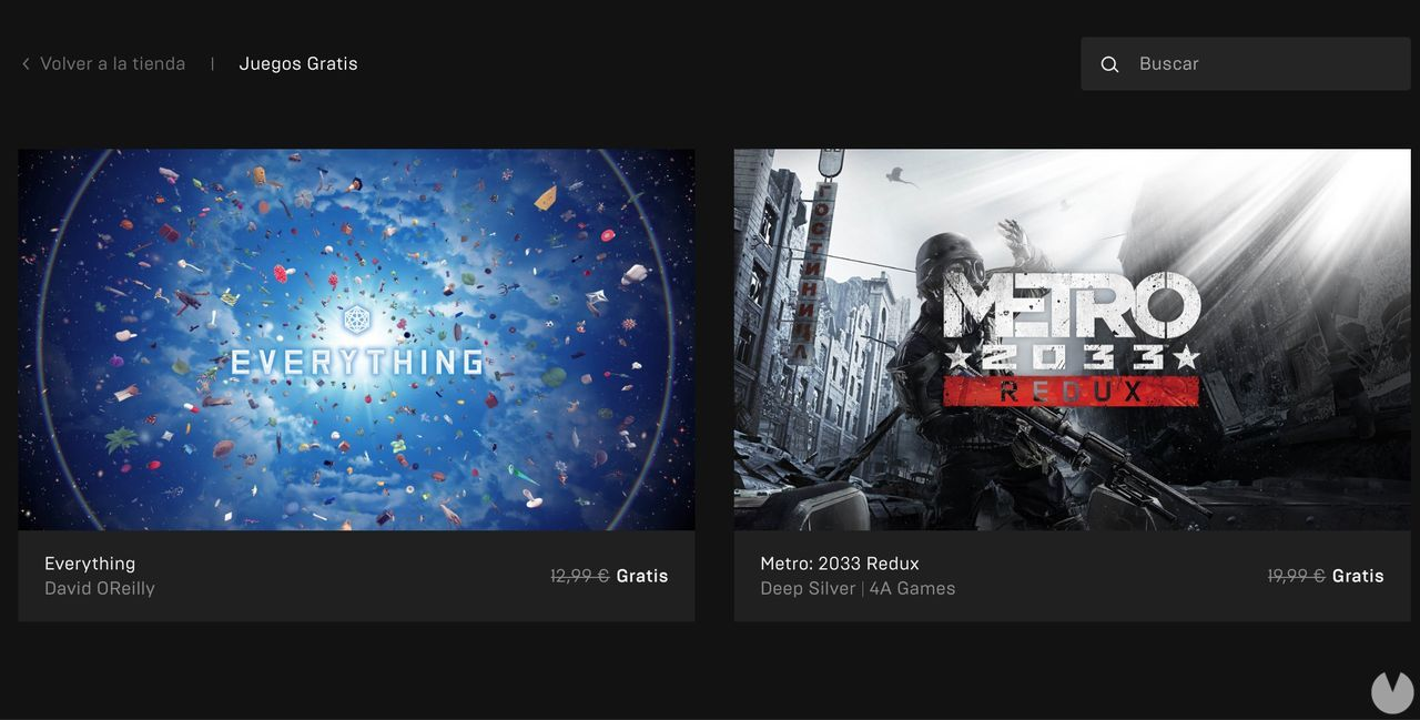 Metro 2033 Redux and Everything free in the Epic Games Store; soon Minit