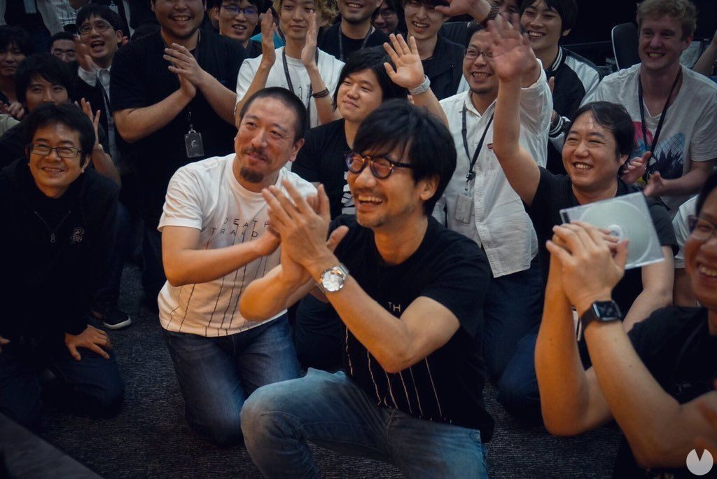 Death-Stranding: Kojima Productions celebrates with Guerrilla have finished the game