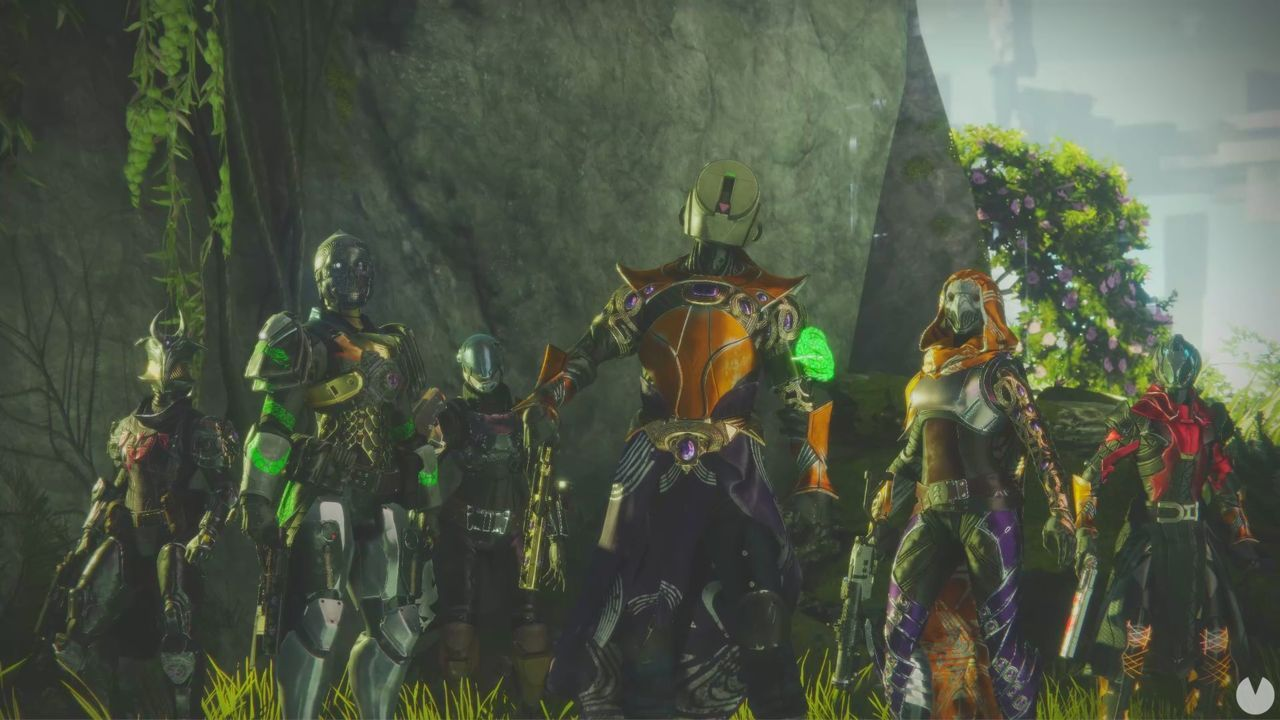 Destiny 2: Stronghold of Shadows; it is in this Fragment, the new map PvP