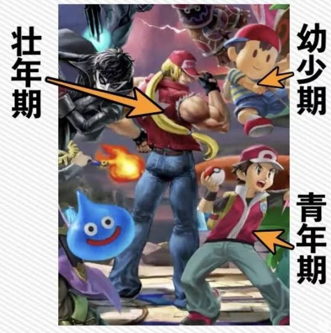 japanese Fans reimaginan Terry Bogard as a Pokémon trainer