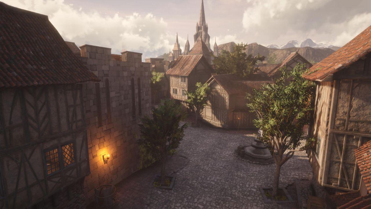 Imagine Stormwind World of Warcraft in Unreal Engine 4 – phoneia