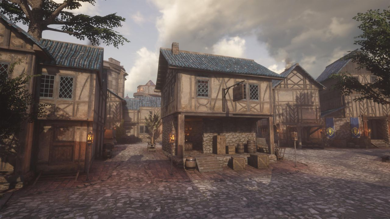 Imagine Stormwind World of Warcraft in Unreal Engine 4