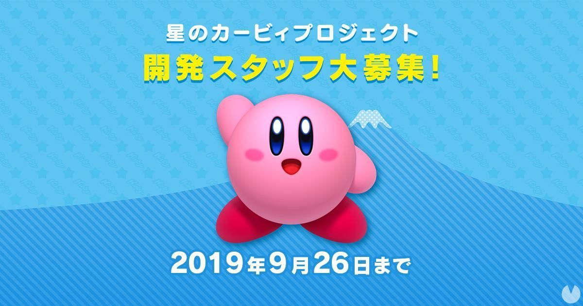 HAL Laboratory looking for staff for the new game of Kirby
