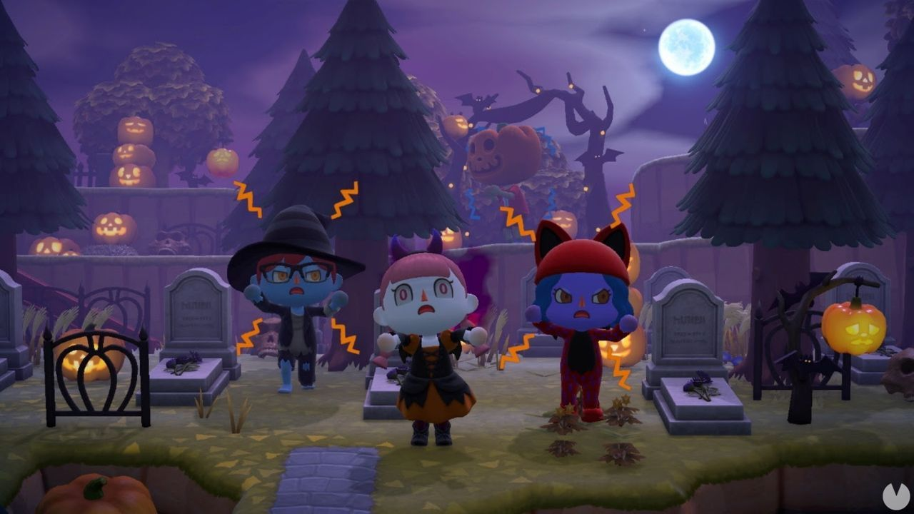 Animal Crossing: New Horizons presenta su actualización de Halloween