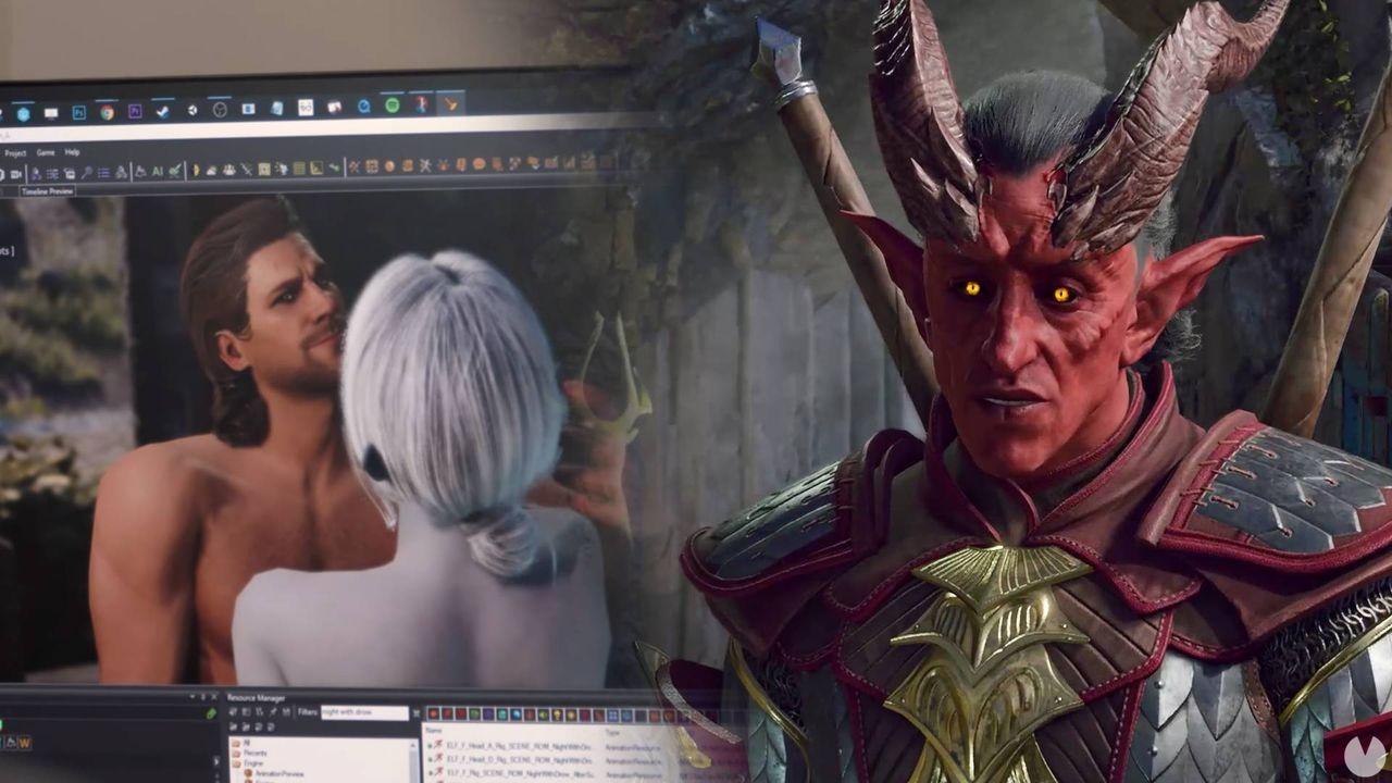 Así funcionarán el sexo y las relaciones en Baldur's Gate 3
