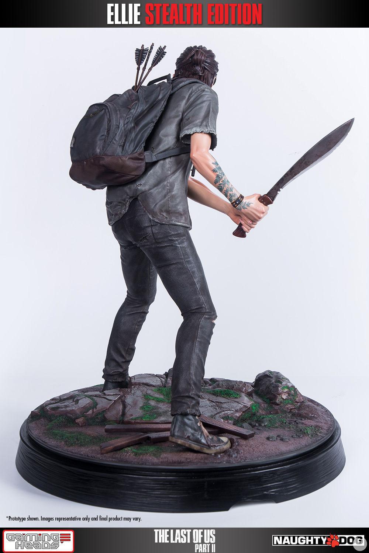 Así es la nueva figura de Ellie inspirada en The Last of Us Parte II