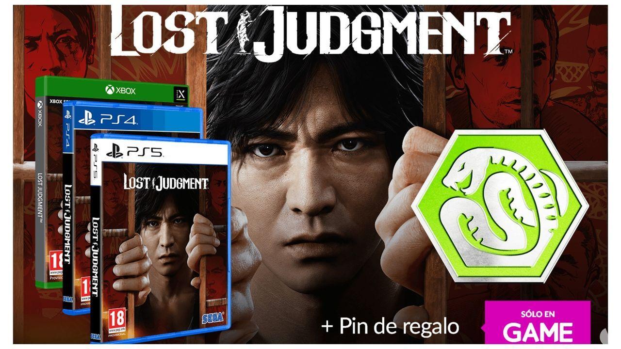 Lost Judgment ya se puede reservar en GAME con pin exclusivo de regalo